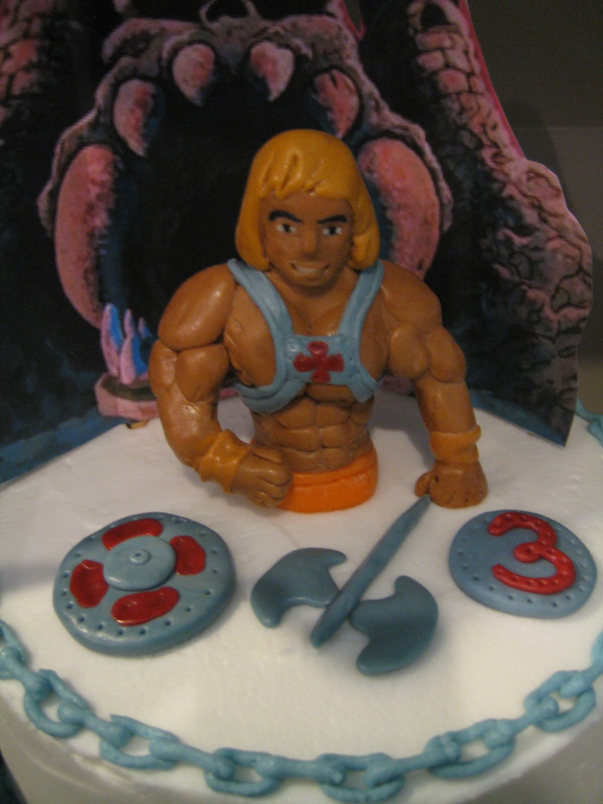 Custom Cakes By Julie He Man Cake
