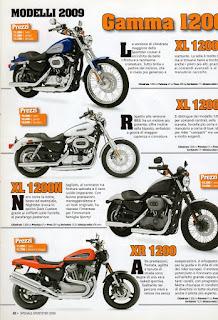 sportster models 2009