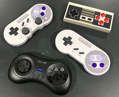 8Bitdo Bluetooth Controllers