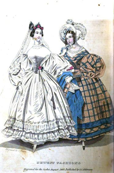 cc7629a6bab2 Two Nerdy History Girls: White Wedding Dresses before Victoria