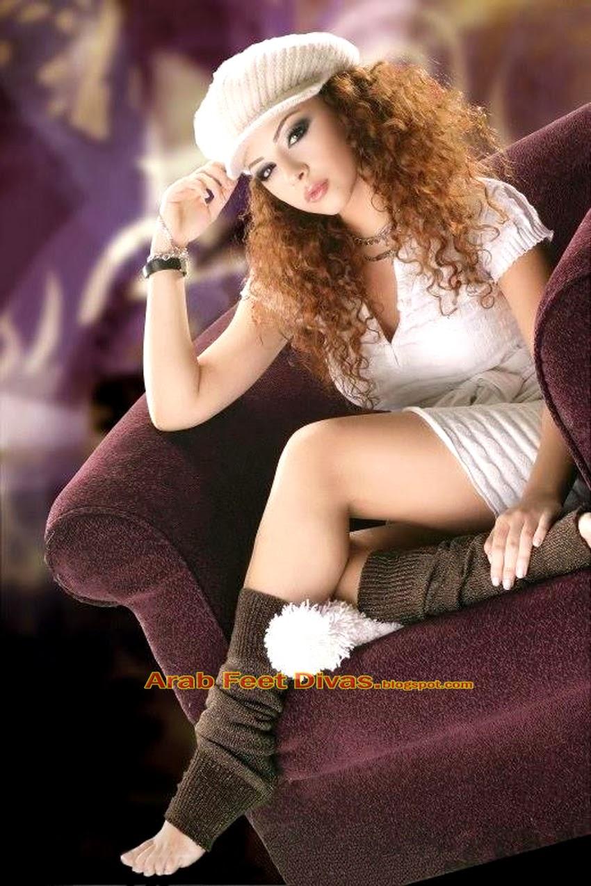 Arab Feet Divas: اصابع اقدام ميريام فارس الرقيقة