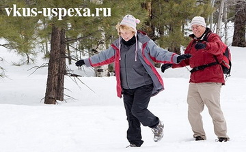Зима и холода, как обезопасить себя пожилому человеку зимой