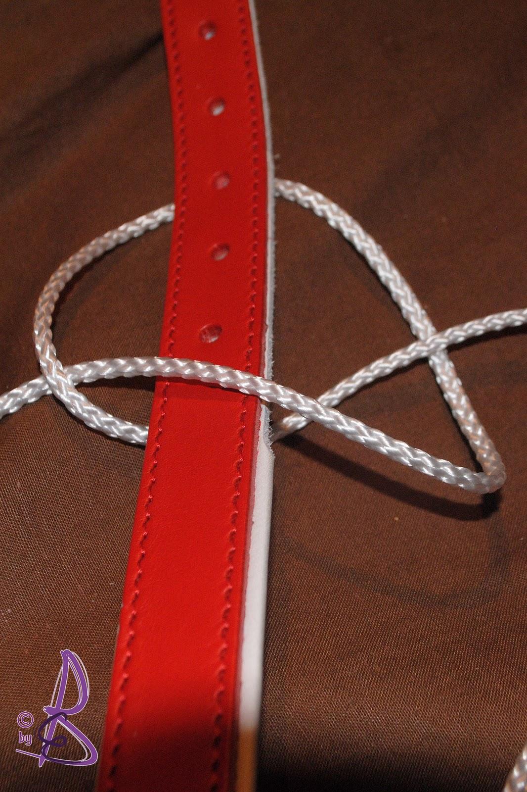 eva s kreativ werkstatt anleitung altes halsband versch nern. Black Bedroom Furniture Sets. Home Design Ideas