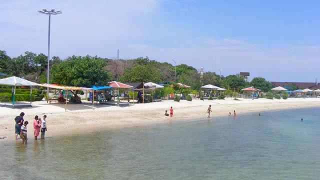 Pantai Tanjung Pasir Teluk Naga