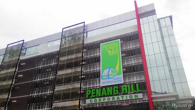 parking building penang hill