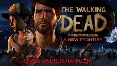 Download The Walking Dead Season Three Mod Apk + Data v1.04 (All Episodes Unlocked) Android Terbaru 2017