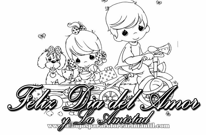Dibujos Para Colorear 14 Febrero Dia Amor Amistad Dibujos
