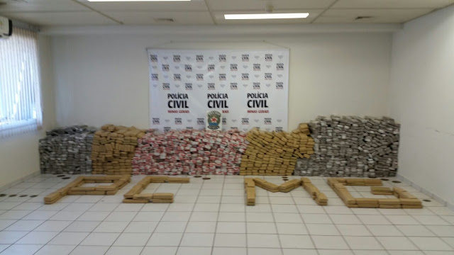 """Operação """"Zeus"""", realizada pela Polícia Civil em Uberlândia"""