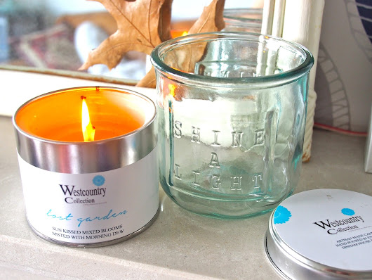 Candle - Westcountry Collection in Lost Garden