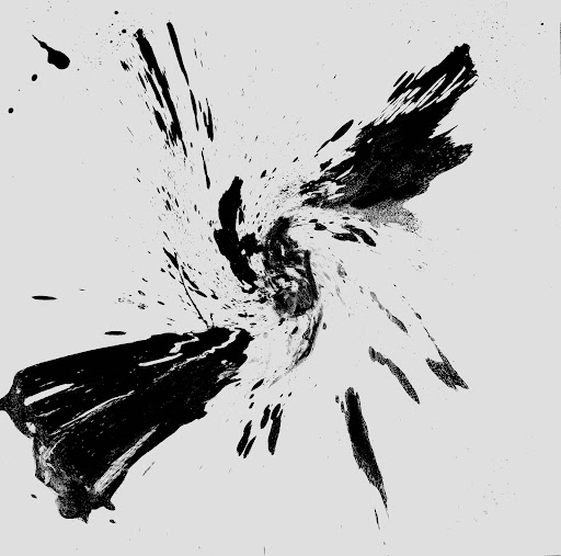 Black and gray digital art