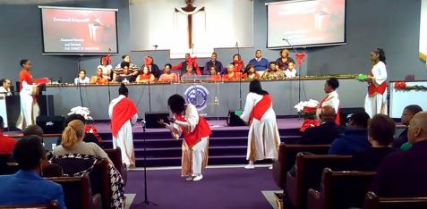norman hutchins emmanuel is a good choice for christmas time ministry - Christmas Praise Dance