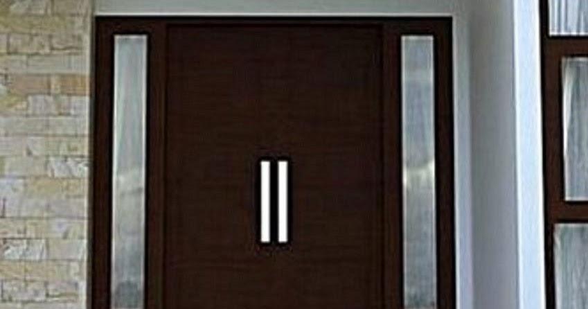 Inspirasi Spesial 50 Pintu Kayu Cermin Depan Rumah