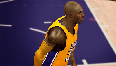 NBA 2K14 Kobe Bryant Cyberface Patch