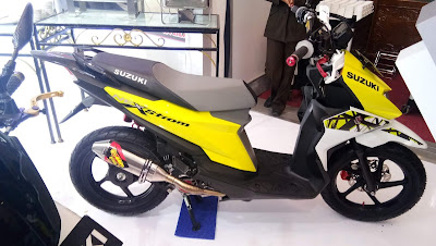 Suzuki Nex Varian Supermoto dengan nama NexStorm