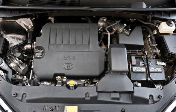 2018 Toyota Highlander Engine