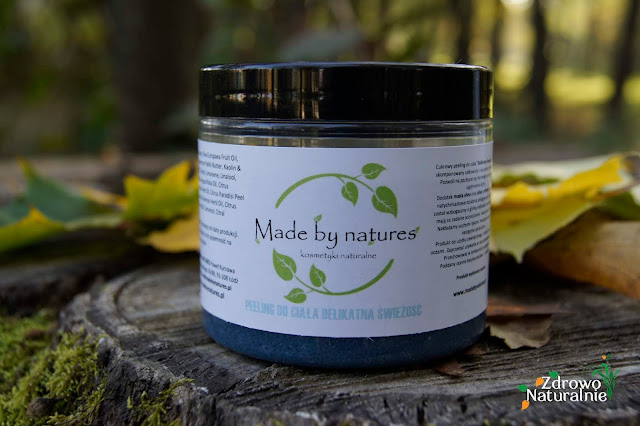 Made by Natures - Delikatny peeling do ciała