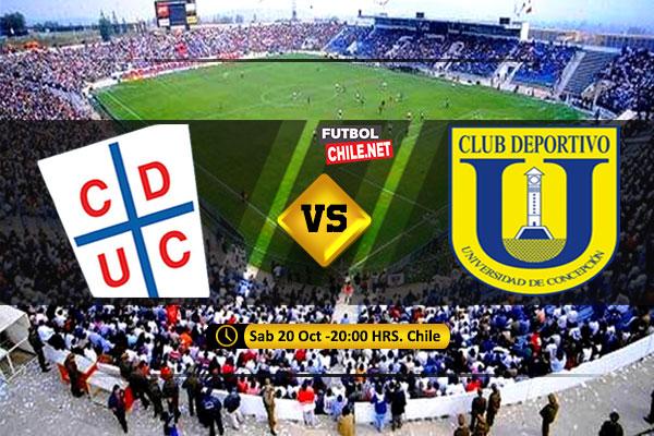 Mira Universidad Católica vs Universidad de Concepción en vivo y online por la Primera División