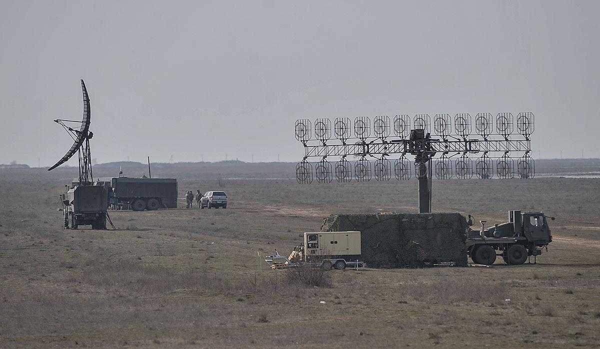На стрільбах «засвітилася» РЛС на новому шасі КрАЗ-7634НЕ 8х8
