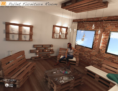 Pallet Furniture Room