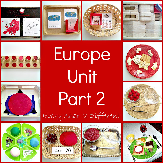 Europe Unit Part 2 with Free Printables