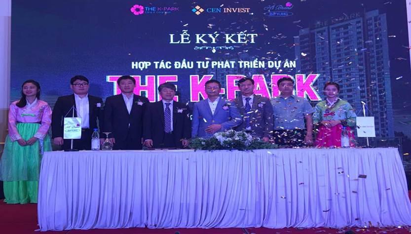 Ceninvest trở thành đối tác chiến lược với HBrand Việt Nam trong dự án The K-Park
