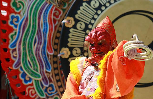 Shunki Kagura Sai - Spring Festival, at Ise-jingu Shrine - Naiku, Ise, Mie