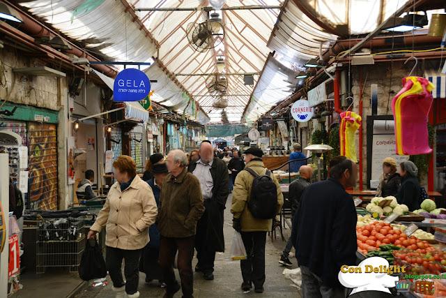 Mahane Yehuda market שוק מחנה יהודה