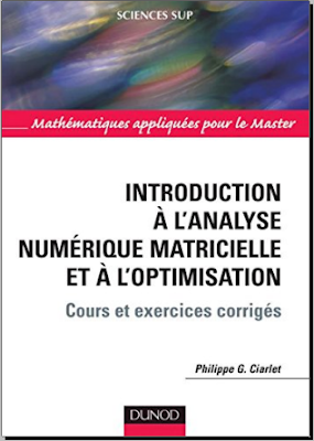 Télécharger Livre Gratuit Introduction à l'analyse numérique matricielle et à l'optimisation pdf