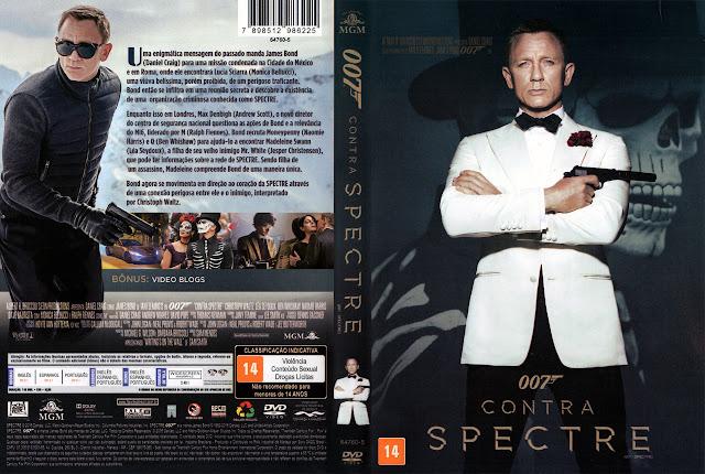 Capa DVD 007 Contra Spectre