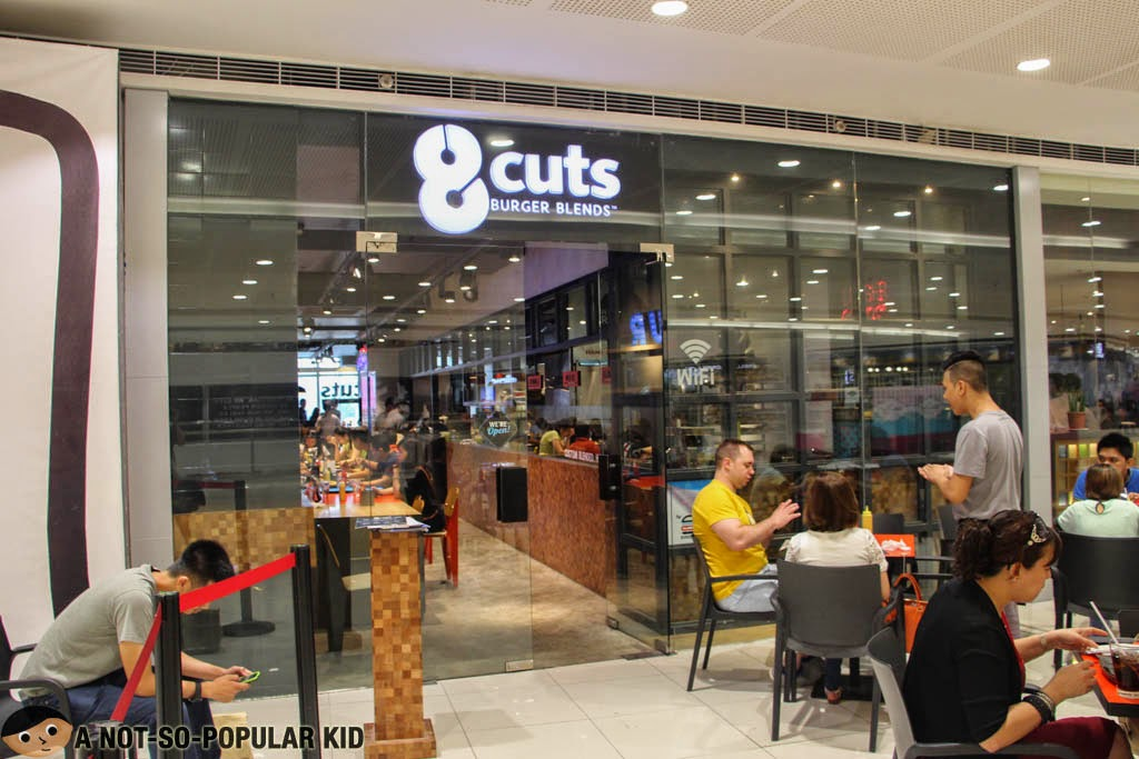 8 Cuts Burger Blends in SM Megamall