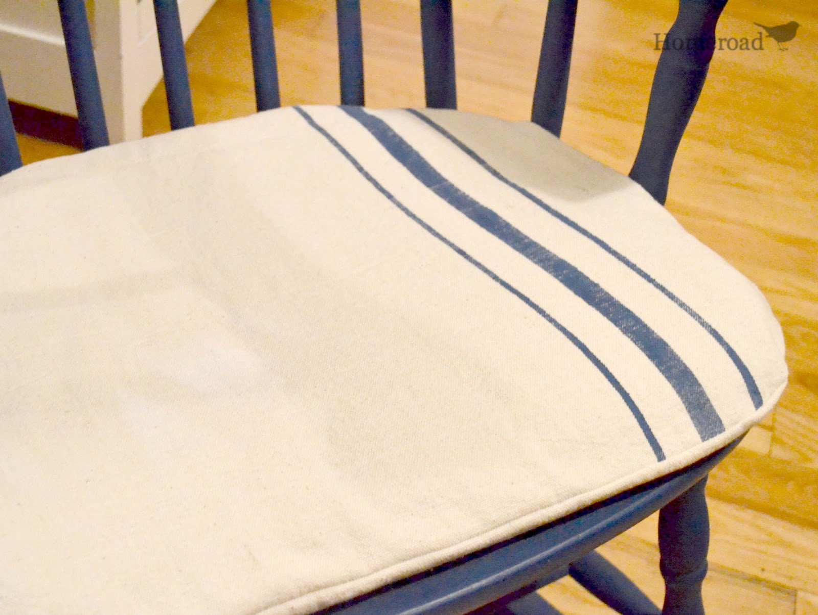 rocking chair cushion pattern tiffany chairs for sale with grain sack   homeroad