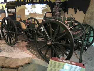 Rare siganls wagon from the First World War period