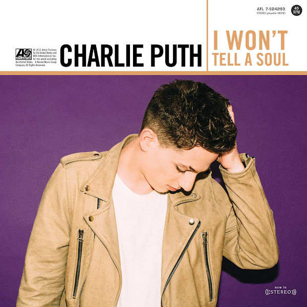 Charlie Puth - I Won't Tell a Soul - Single Cover