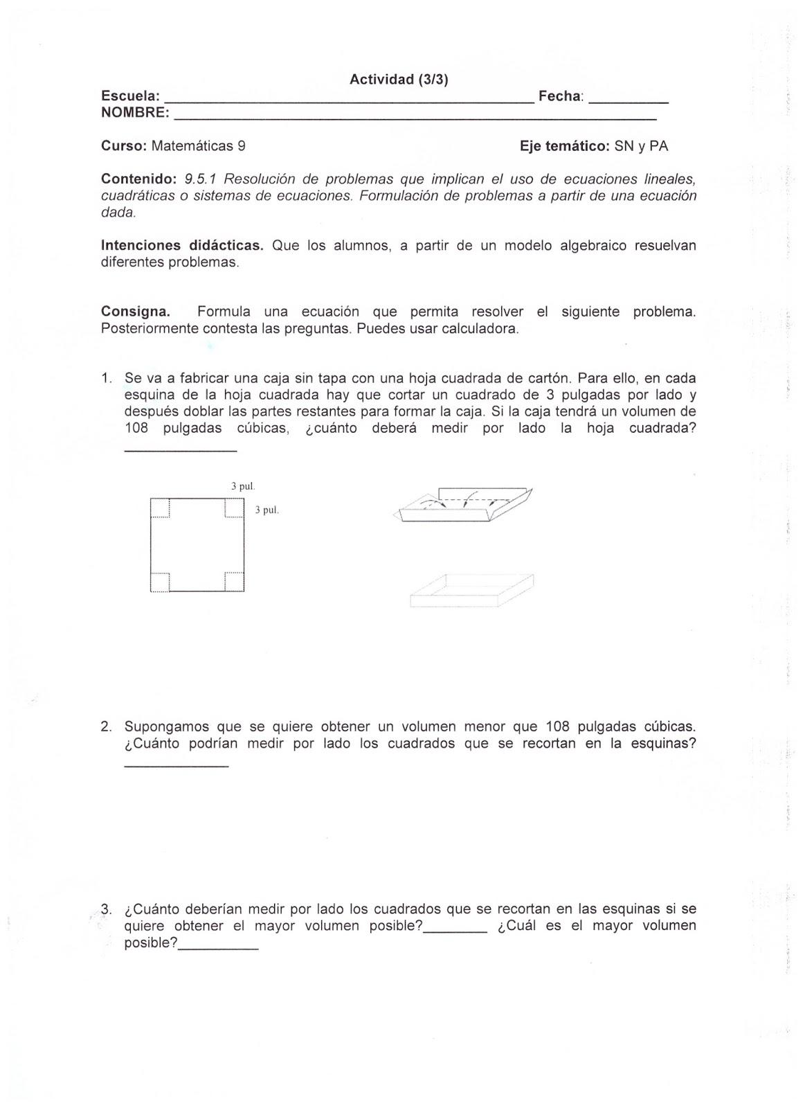 Dorable Ecuaciones Mixtas Hoja De Trabajo Imagen - hojas de trabajo ...