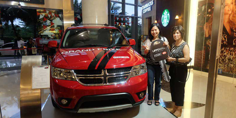 Garansindo Hadiahi Nasabah Bank 1 Unit Dodge Journey