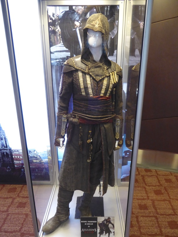 Michael Fassbender Assassins Creed Aguilar film costume