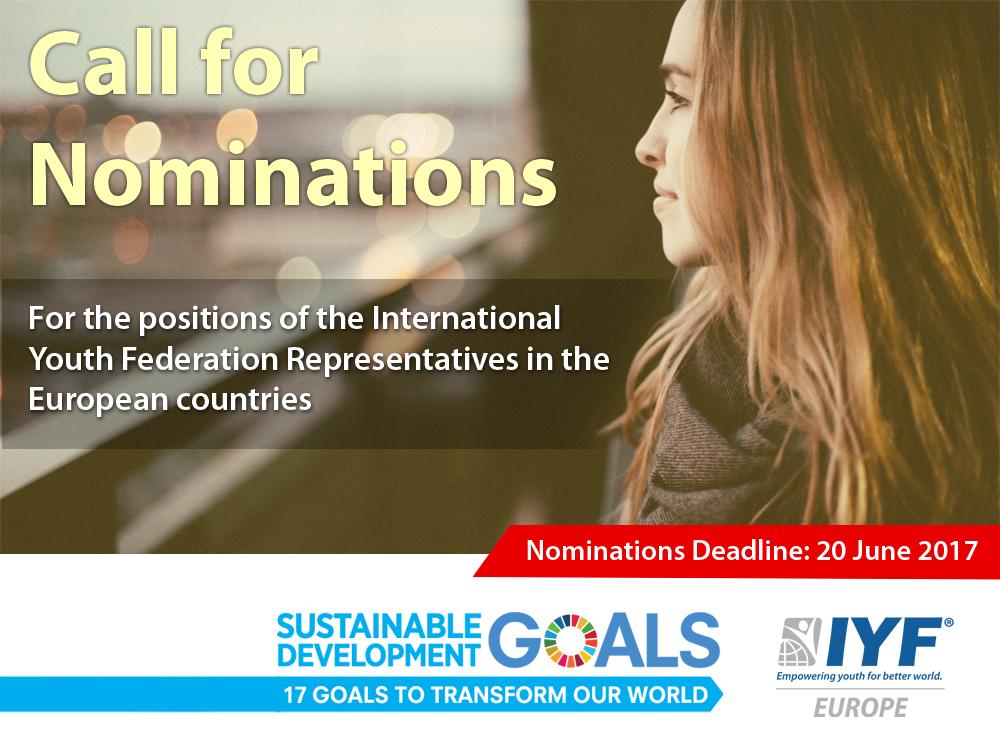 IYF EU Call for Nominations