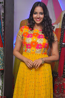 Pujitha in Yellow Ethnic Salawr Suit Stunning Beauty Darshakudu Movie actress Pujitha at a saree store Launch ~ Celebrities Galleries 024.jpg