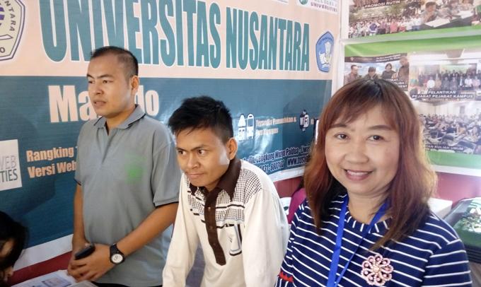 Universitas Nusantara Manado Jaring Maba di Sulawesi Expo Kopertis IX