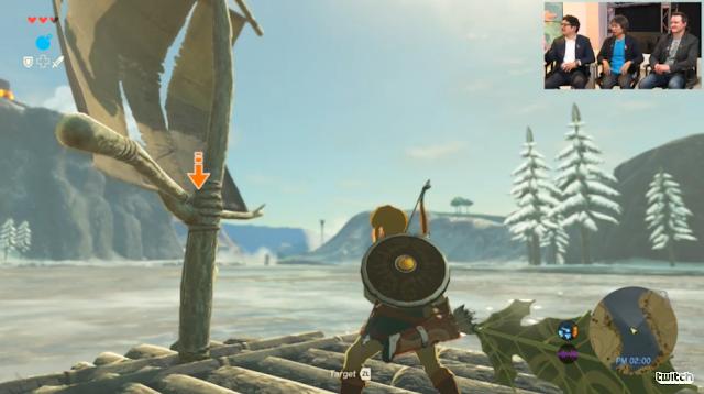 The Legend of Zelda: Breath of the Wild raft Korok leaf