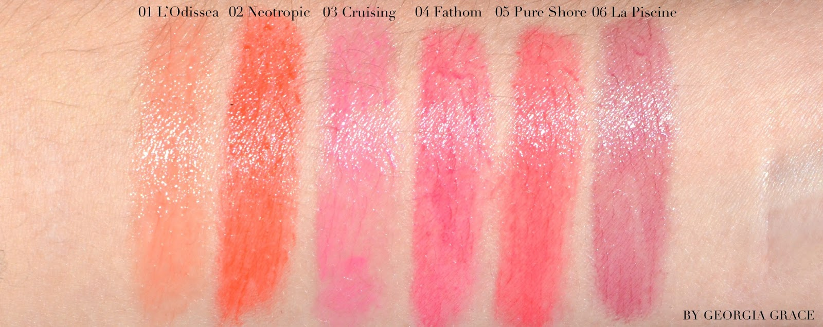 Tom ford summer soleil collection swatches photos for Piscine yves nayme