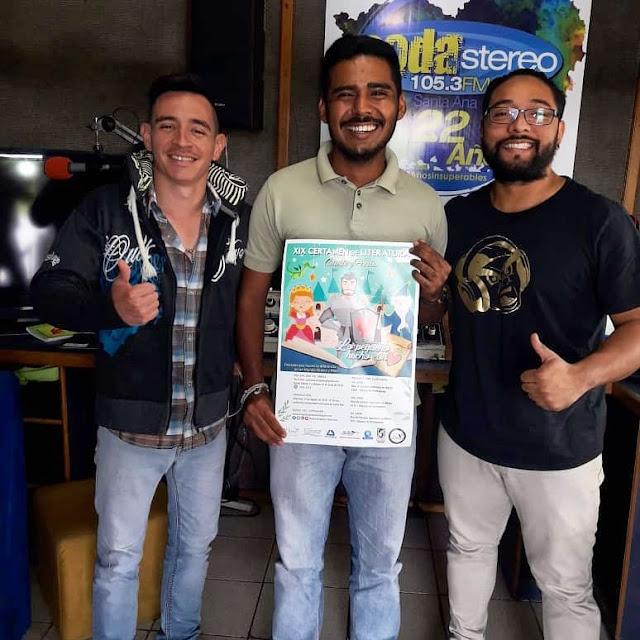 Nueva Acrópolis difunde certamen de literatura en Radio Soda Stereo 105.3 FM de Santa Ana