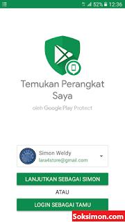 Aplikasi Google Temukan Perangkat Saya APK