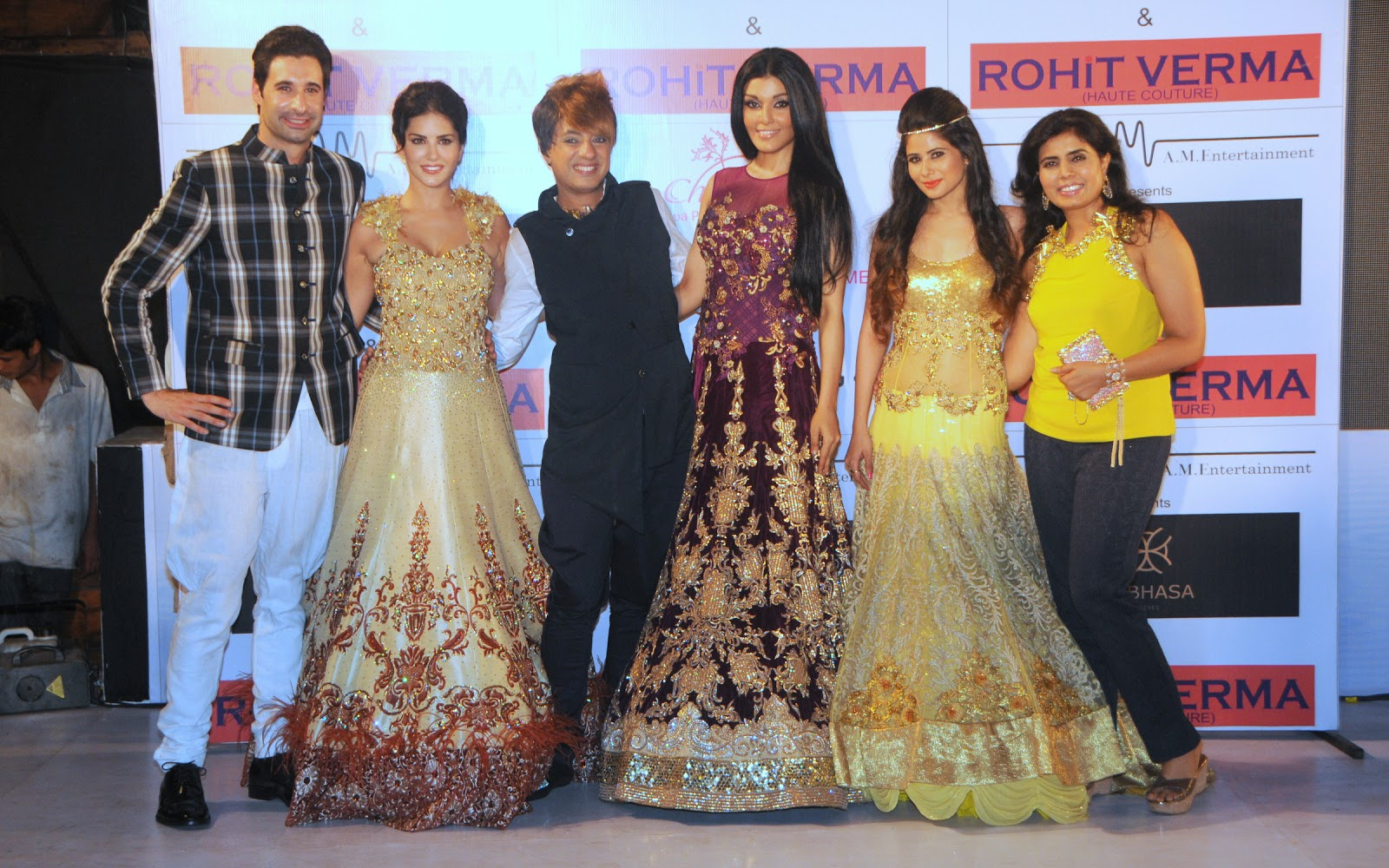 Sunny Leone & Koena unveil Rohhit Verma's new club wear collection