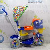 royal gajah mexico sepeda roda tiga