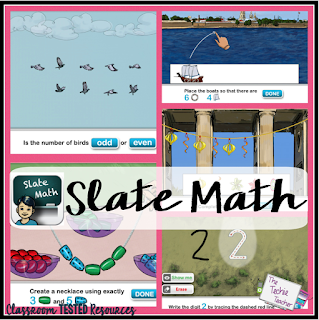 Slate Math app | The Techie Teacher