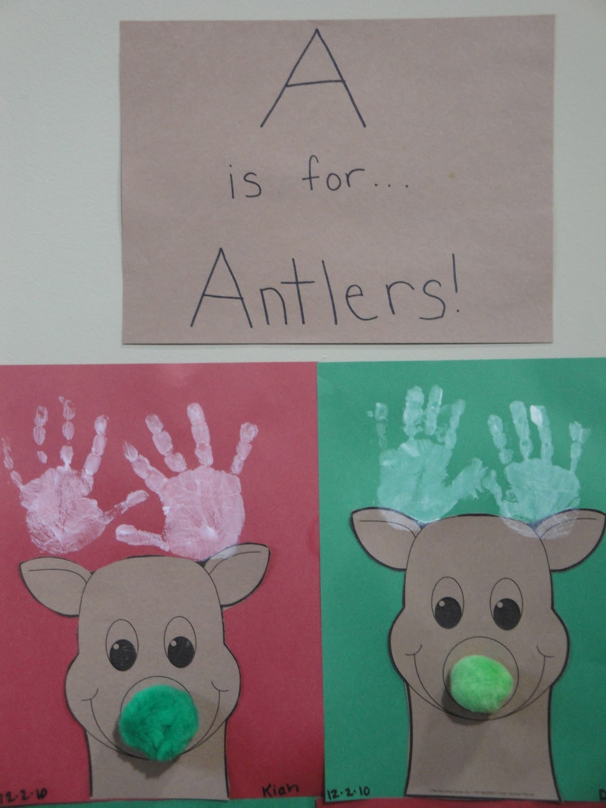 Beautiful Chaos: Preschool: Christmas Crafts