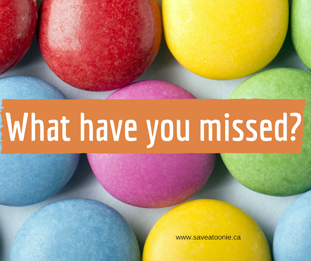What freebies have you missed
