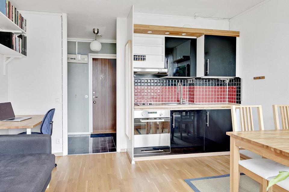 deco petit appartement de 20m2 guiomarix. Black Bedroom Furniture Sets. Home Design Ideas