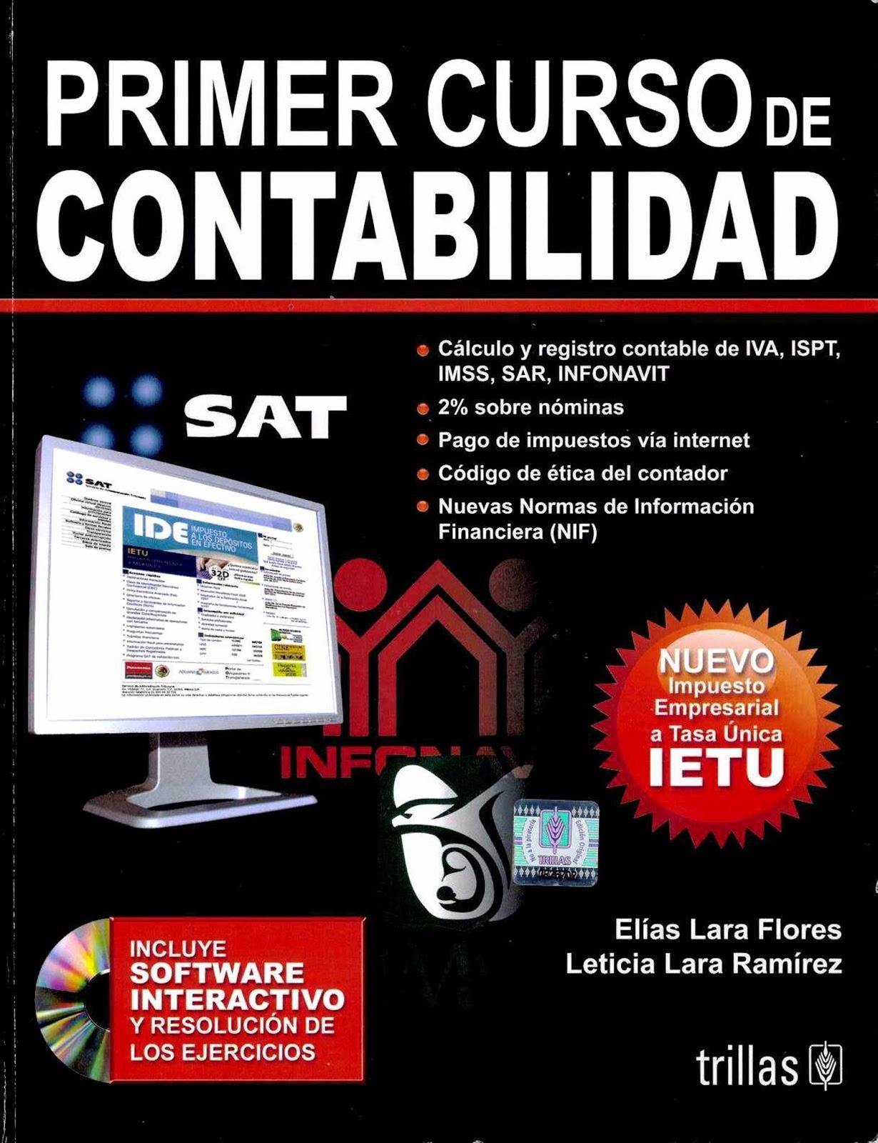 Primer curso de contabilidad, 22va. Edición – Elías Lara Flores